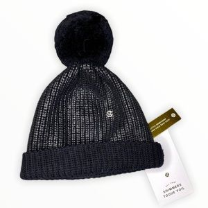 Lululemon All That Shimmers Torque Foil Winter Hat